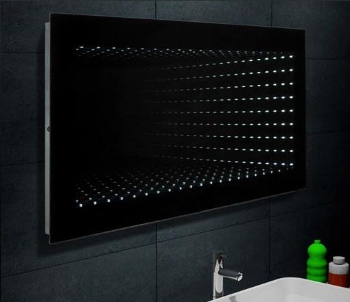 Zrcadlo UNIVERS 120 s LED osvětlením a 3D efektem