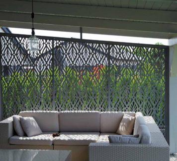 Zahradní a balkonové zástěny z hliníku jsou IN